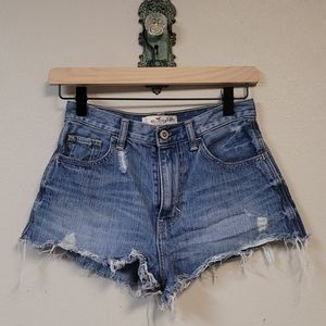 Hollister Womens Cutoff Shorts